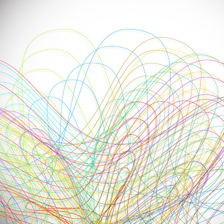 polychromatic: Scribble background