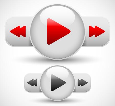 fast forward: Giocare, avanti veloce, tasto rewind