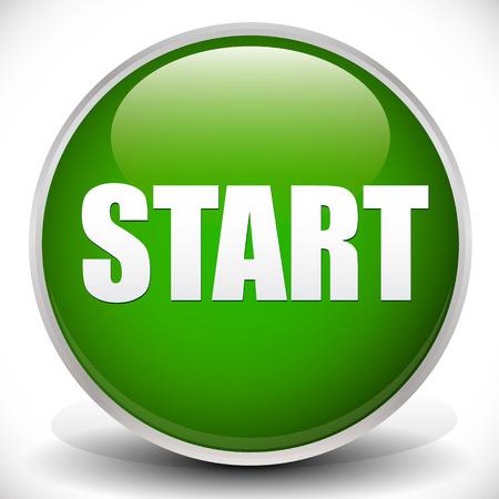 """activacion: Bot�n verde con la palabra """"START"""""""