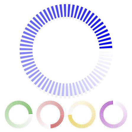 pre loader: Circular shapes