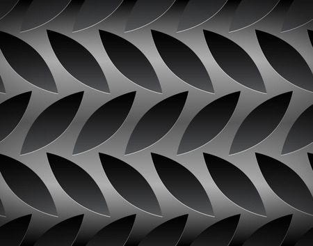Vector illustration of a diamond or checker plate. Seamless pattern, repeat the image and fill any area