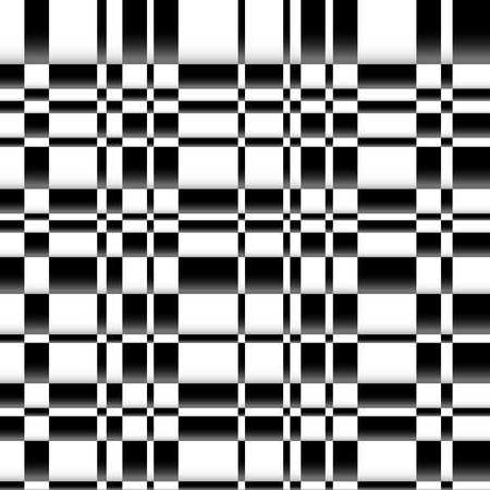 Vector illustration of an irregular checkered pattern. Can be repeated.