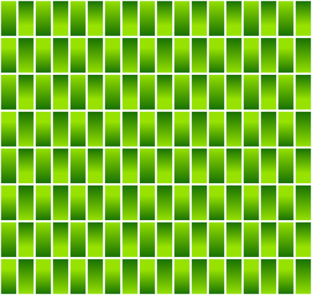 Vector illustration of Seamless pattern made of rectangles with alternating fills (light from up-down-up)