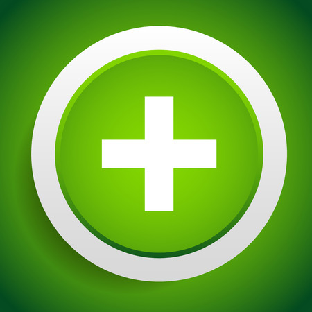 be green: Vector illustration of a Green cross for health care and medical concepts. Can be used as a sign of first-aid, ambulance, pharmacy, hospital. Can be used as a background or an icon