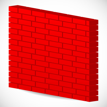 Vector Illustration Of 3d Red Brick Wall Firewall Royalty Free Cliparts Vectors And Stock Image 36380185