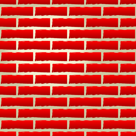 repeatable texture: Vector illustration of seamless brick wall texture (repeatable). Eps 10.