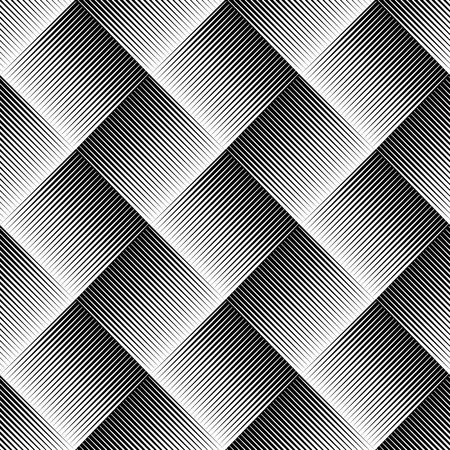Vector illustration of seamless pattern made of pointed, sharp shapes. Eps 10 vector.