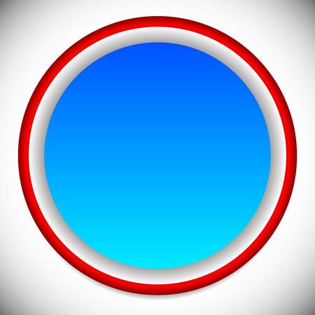ten empty: vector illustration of Circle element