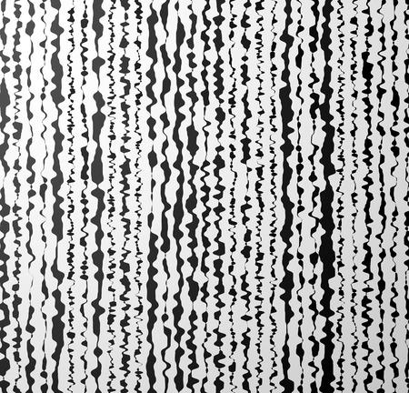 Vector Illustration of Distorted Vertical Shapes. Artistic Background Illustration