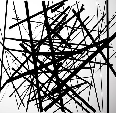 randomness: Eps 10 Vector Illustration of Artistic Modern Minimal Art Like Background