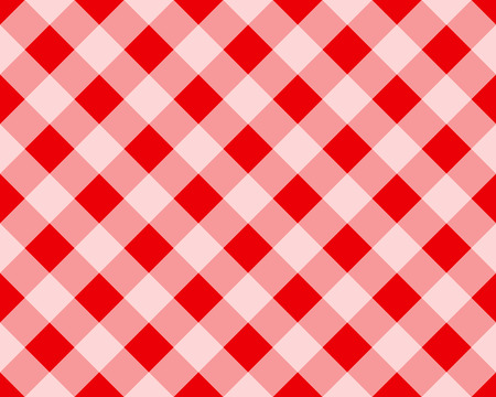 red plaid: Vector Illustration of Plaid Pattern in Red and White (Repeatable)
