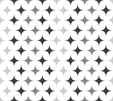 spiky: Vector Illustration of Seamless Pattern with Spiky Shapes