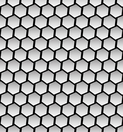 octagonal: Vector Illustration of Octagonal Shapes Seamless Pattern