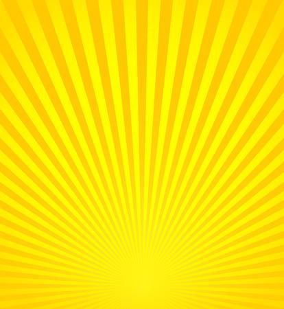 Ilustración vectorial de los Rayos, Vigas, Sunburst, Fondo de Starburst