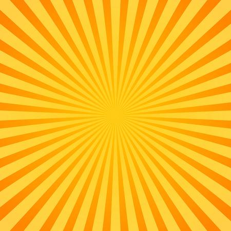 Eps 10 Vector Illustration of Sunburst, Rays, Beams. Glowing, radiant backdrop
