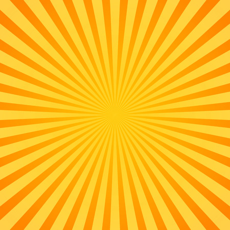 Eps 10 Vector Illustration of Sunburst, Rays, Beams. Glowing, radiant backdrop