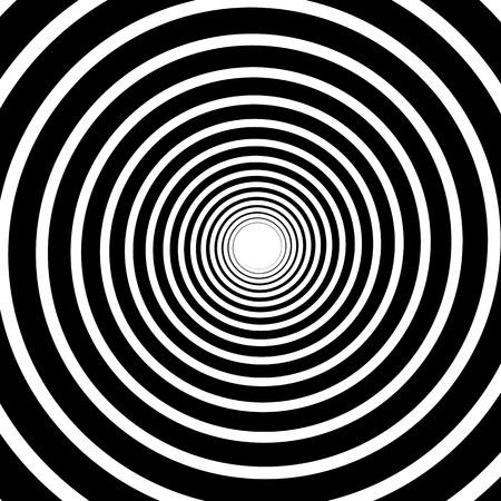 vertigo: Vector Illustration of Spirally Graphics Illustration