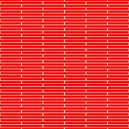 redbrick: Vector Illustration of Seamless Brick Wall Pattern Illustration