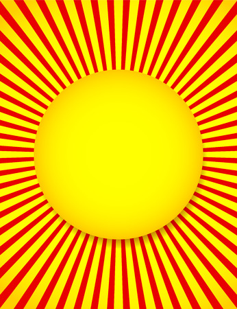 energy center: Vector Illustration of Abstract Sun background with Rays, Beams