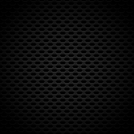 Dark Carbon-Like Background Pattern with Seamlessly Repeatable Geometry, Eps 10 Vector Illustration
