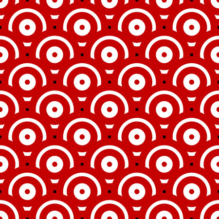 overlapping: Seamless Pattern with Overlapping Circles