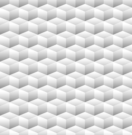 blocky: 3D Cubes Seamless Pattern