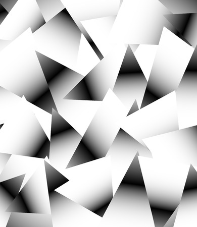 edgy: Random Triangles Abstract Vector Background Illustration