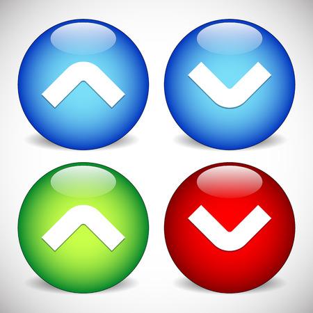 arrowhead: Arrow, Arrowhead Icons. Arrow buttons up and down.