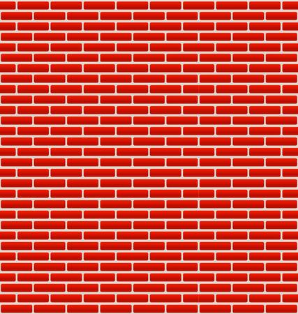 Brick Wall Texture with Small Bricks