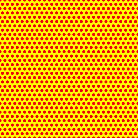 yellow art: Dotted, Pop Art Background, Pop Art Pattern. Symbolic Background of Art of 1960s. Illustration