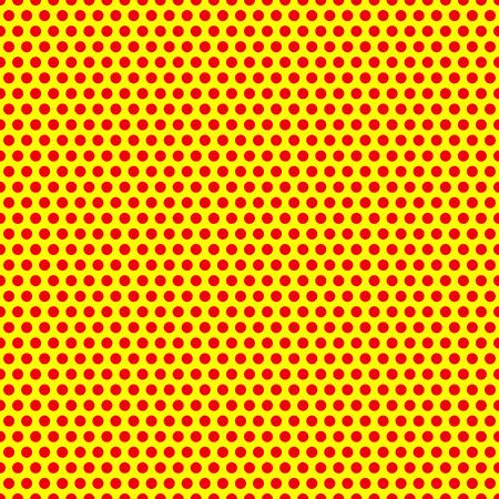 amarillo: Punteada, Pop arte de fondo, Pop modelo del art. Antecedentes simbólicos de arte de 1960.