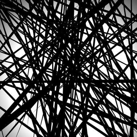 Random lines abstract background. Modern, minimal (contemporary) art like graphics
