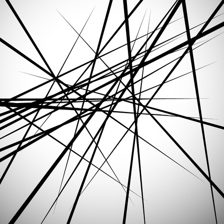 Willekeurige lijnen abstracte achtergrond. Modern, minimaal (hedendaagse) kunst, zoals afbeeldingen