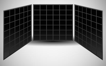 pane: 3 Pane Video Wall