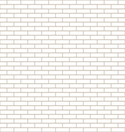 stonework: Brick Wall Texture with Small Bricks in White and Light Brown Illustration