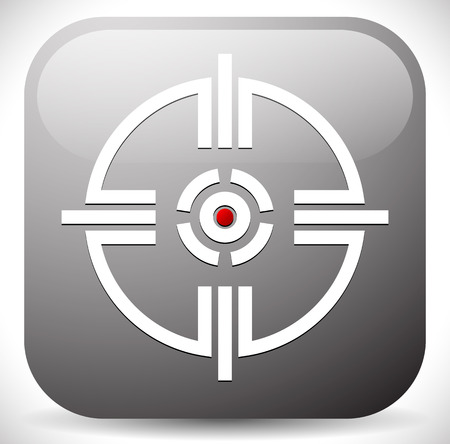 hindsight: Crosshair, Reticle. Target Mark Icon