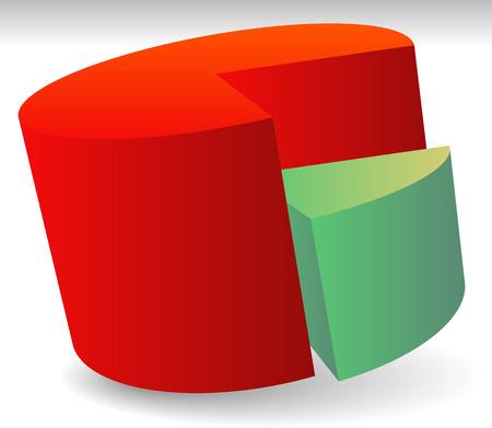 third wheel: Pie Chart Vector. Pie Chart, Pie Graph Element