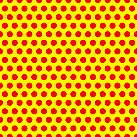 Dotted, Pop Art Background, Pop Art Pattern. Symbolic Background of Art of 1960s. Illustration