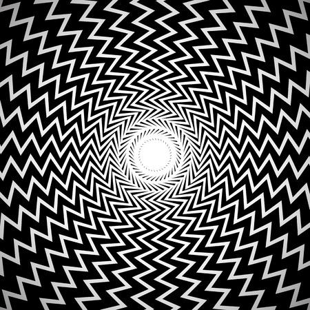 background image: Blanco y Negro Resumen Antecedentes  Imagen con radial, Edgy Zigzag L�neas  Formas.