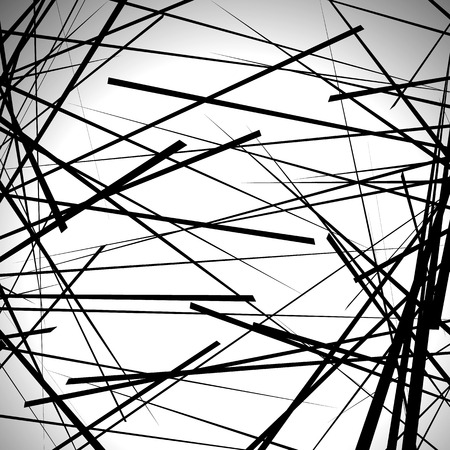 edgy: Random lines abstract background. Modern, minimal (contemporary) art like graphics