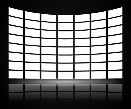 Video Wall with distortion
