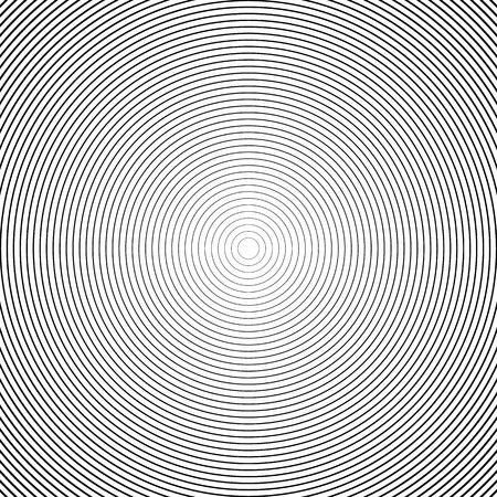 Concentric Circle Elements / Backgrounds. Abstract circle pattern. Stock Illustratie