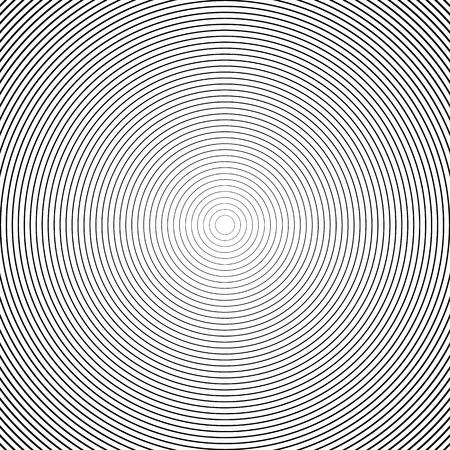 Elementos del círculo concéntrico / Fondos. Patrón abstracto del círculo.