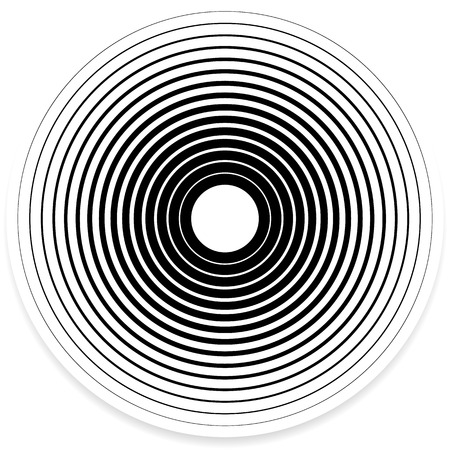 Concentric Circle Elements  Achtergronden. Abstracte cirkel patroon.