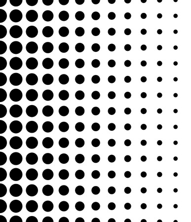 prepress: Vertically Seamless Black and White Dotted Pattern