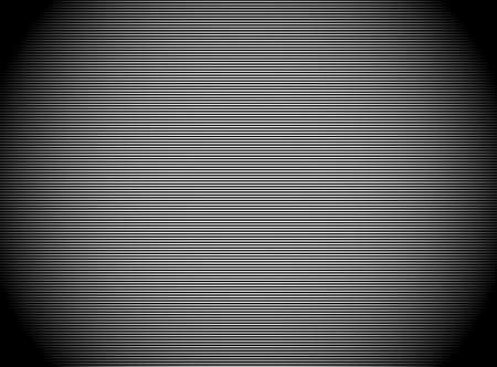 Dark stripes background with thin lines. Empty camera screen with shade effect. Straight, horizontal lines pattern.
