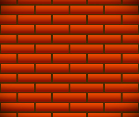 Seamless pattern of dark brickwork, brick wall. Repeatable. Construction, revetment, firewall pattern, texture. Eps10 Vector graphics.