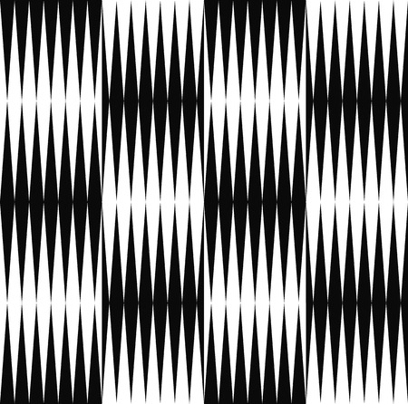 pontudo: Black and white pattern of edgy, pointed shapes. Repeatable background of triangle shapes. (Seamless) Ilustra��o