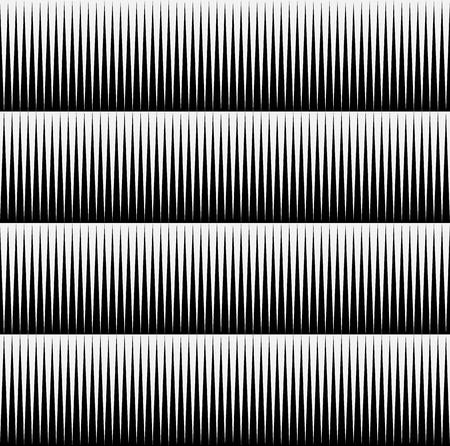 puntig: Zwart-wit patroon van edgy, puntige vormen. Herhaalbare achtergrond van driehoek vormen. (Naadloze)