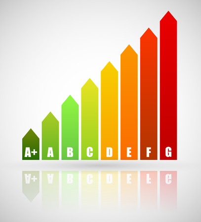 energy performance certificate: Energy Rating Certificate, Energy Performance Certificates. Energy efficiency, energy consumption rating for houses, homes, buildings